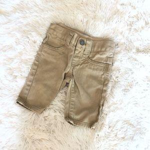 Children's Place • Khaki Pants • 0-3 Months